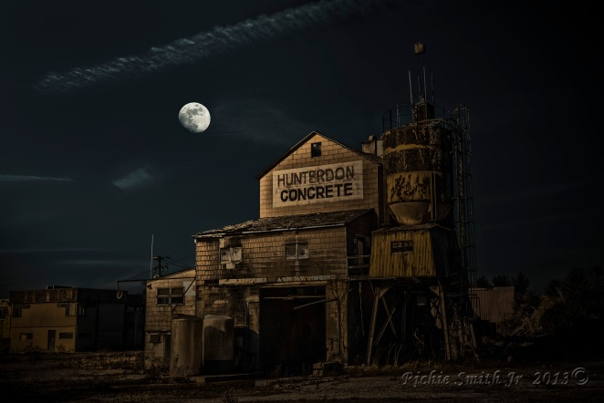Hunterdon Concrete  HDR Nighttime