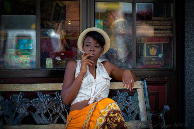 Cigar Break Reese Maddox (model)