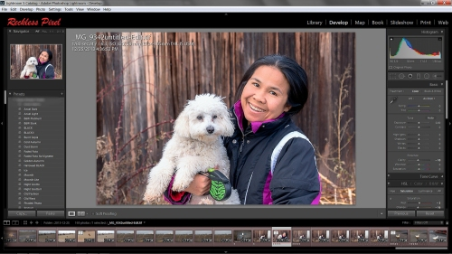 Lightroom being state of the art software offers many options that go beyond organizing photos.