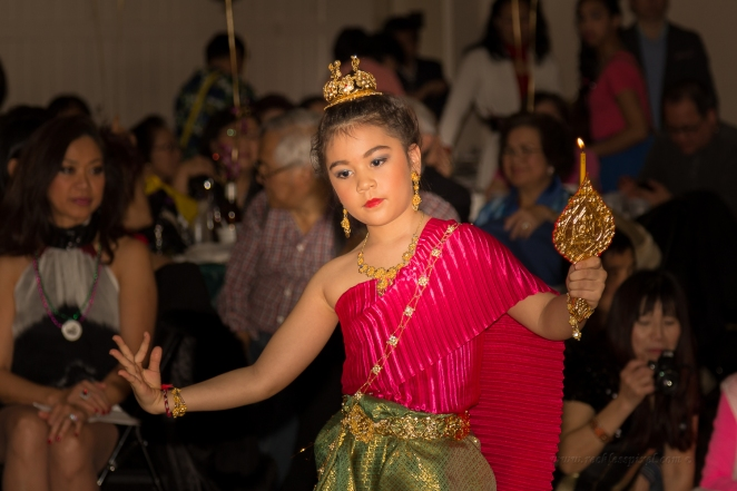 Thai dancer at the New Year party, Saddle Brook, NJ.