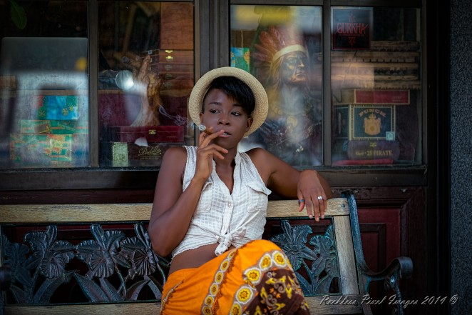 Cigar Break 1/200 sec at f/2.8 ISO 160 145mm natural light.