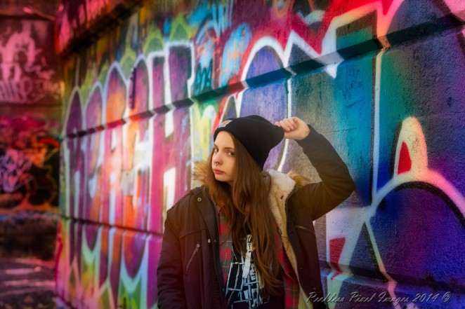 Seren at Graffiti Pier