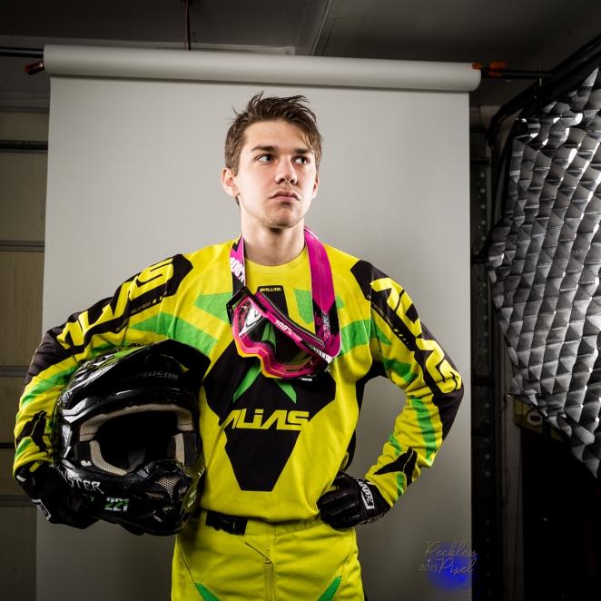 Jersey Motocross Racer Greg Sampson