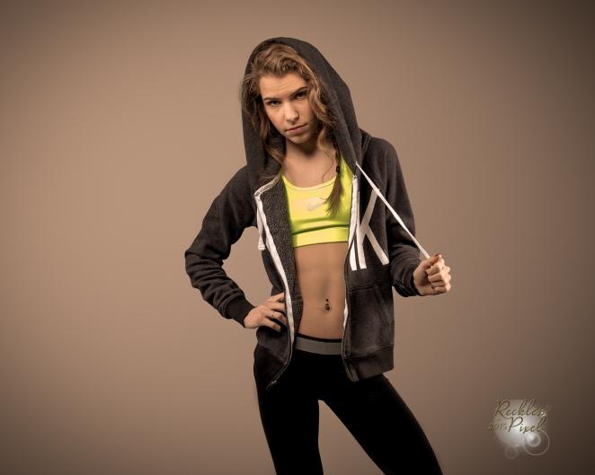 Teen Fitness Model Kendall Strampel