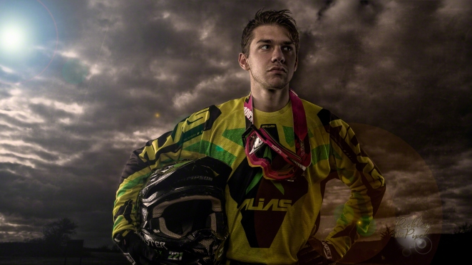 Motocross Racer Greg Sampson