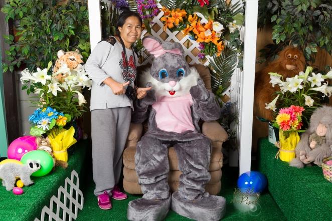 My wife Munn & Bunny