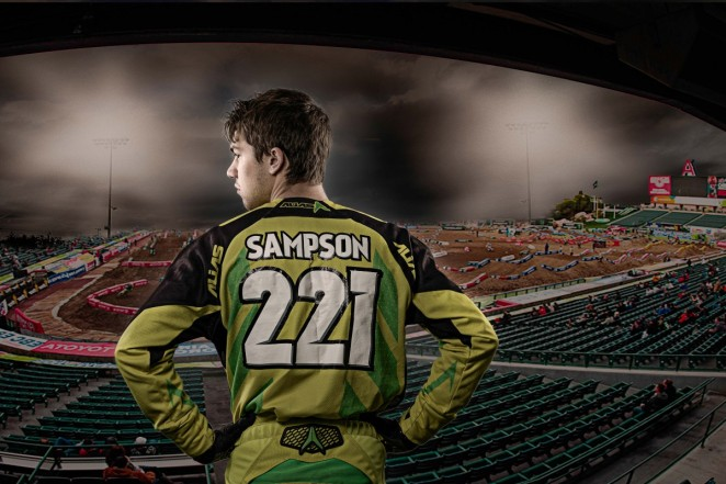 New Jersey Motocross Racer Greg Sampson