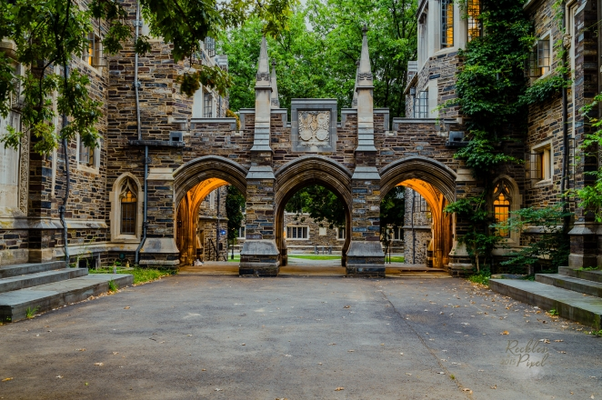 Howard Henry Dormitory at Princeton University.